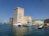 Marseille, le Vieux Port, du Fort Saint-Nicolas, au Fort Saint-Jean et au Mucem, Cl. Elisabeth Poulain
