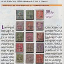 "Timbres magazine ""Caisse d'amortissement"""