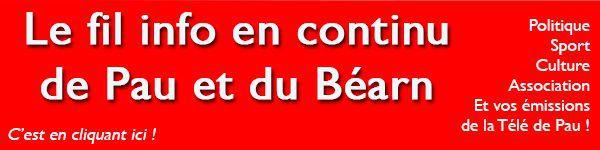 Toute l'info de Pau et du Béarn en continu sur Pyreneesinfo.fr