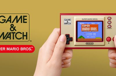 GAME & WATCH: SUPER MARIO BROS sur Nintendo