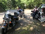 Three Road king on the road