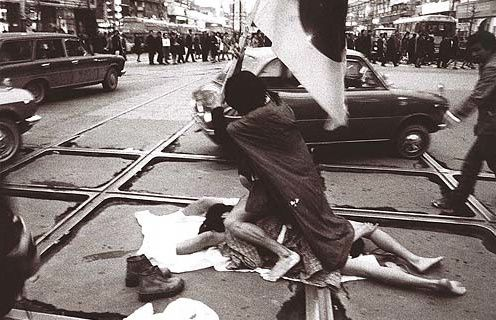 A Happening on the Street @ Collective Kumo. 1970. Japon