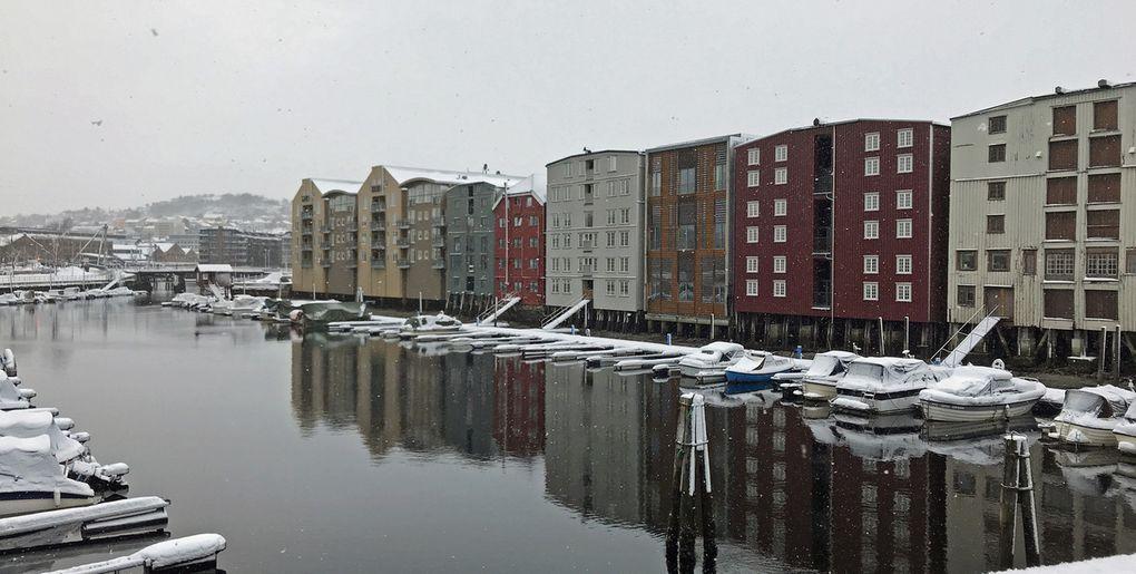 Balade à pied dans Trondheim