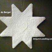 Tuto : Etoile du Berger - PATCH EN OSTREVANT