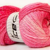 Magic Glitz Silver Pink Shades