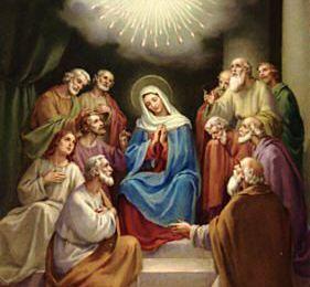 Belle et Sainte Fête de la Pentecôte