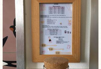 Ne râtez plus vos recettes, tableau de conversion pour la cuisine. Free Printable.