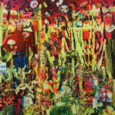 Exposition Peinture Contemporaine: Rosson CROW «Next year at Marienbad»