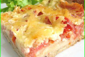 Tarte tomate - camembert