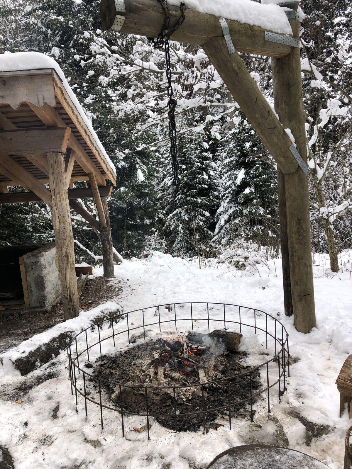 Mardi 5 janvier 2021 : Le Crêt, Montborget, Bois de Ban la Verrerie