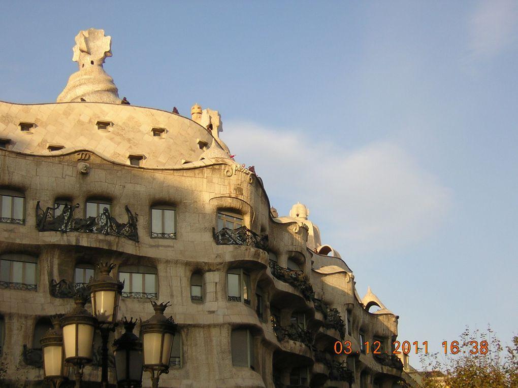 Sortie à Barcelone - Décembre 2011