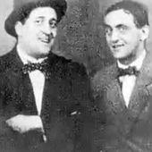 Guillaume Apollinaire avec son ami André Rouveyre 1914