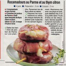 Rocamadours Parme-thym-citron !