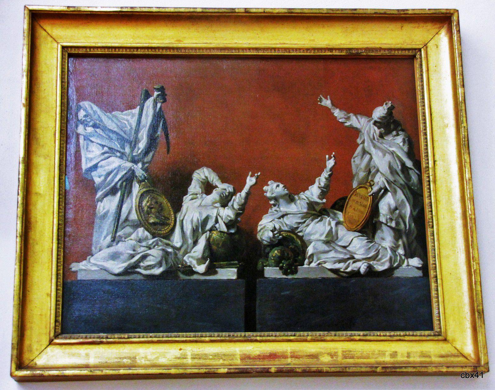 Louis-Jacques Durameau, Projets de sculptures allégoriques
