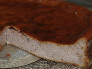 Cheesecake figue express