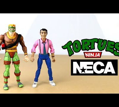 Review NECA TMNT Cartoon Rat King & Vernon