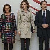 Somehow Queen Letizia of Spain Just Made a Trench Coat Look Fresh and Modern