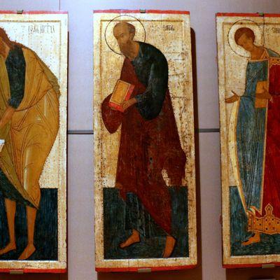 Saint Jean-Baptiste, saint Paul et Demetrius de Thessalonique