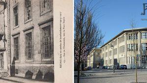 Reims dans ses années de bombardements : Rue de l'Université